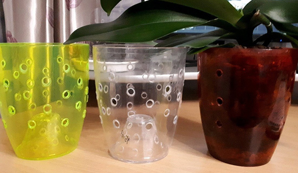 Пластиковые вазоны