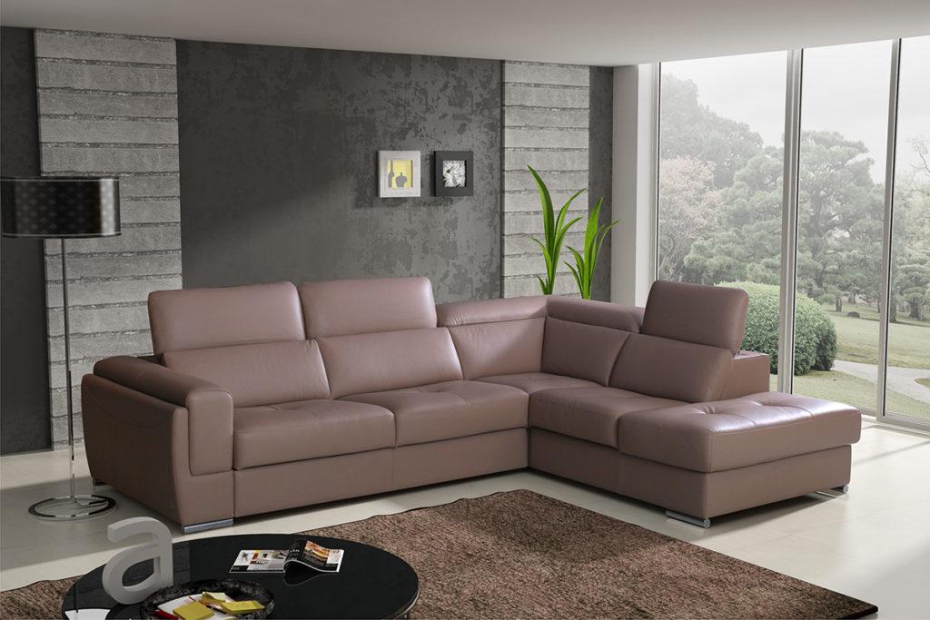 Главные разновидности угловых диванов
