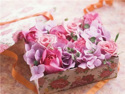 Виды и свойства цветочной упаковки